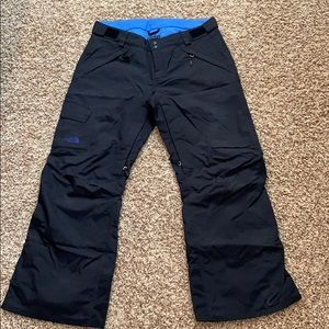 The North Face snow pants! Only worn once. SZ L!